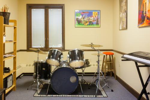 Inside Detroit School of Music at 2051 Rosa Parks