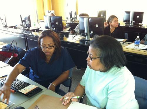 The first Etsy Craft Entrepreneurship Program class in Detroit.